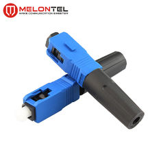 China Blue FTTH  Fiber Optic Connectors Short Type MT1041-SC Fast Connect factory