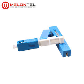 China 60mm SS Fiber Optic Connectors MT1041 , Quick Connect FTTH Fiber Cable Connectors factory