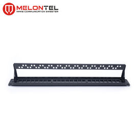 China Blank Unloaed Data Patch Panel 1U 19 Inch 24 Port With Plastic Plated MT 4203 factory