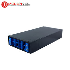 4 / 8 Port Indoor Fiber Distribution Box With Plastic Panel For FTTX Cabling MT1203