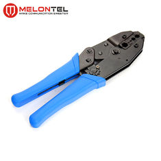 China Blue 0.25-6mm Copper Wire Tools MT 8306 , Cold Press Terminal Pliers Pin Crimping Tool factory
