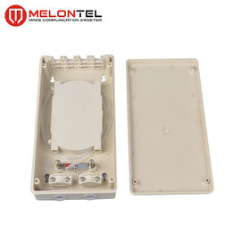 Wall Mount 12 Core Fiber Access Terminal Indoor Plastic For Fiber Optic Cabling MT1218