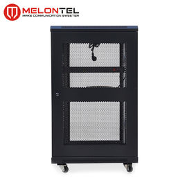 China Floor Type 19 Inch Rack Cabinet  MT 6001 , Standing 18U Server Rack Cold Rolled Steel factory