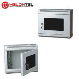 China 4U / 12U Network Cabinet Wall Mount Cold Rolled Steel 10 Inch Customized Size Available MT 6021 factory