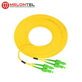 Simplex Fiber Optic Patch Cord  MT-S1000 , SC Patch Cord With SC-SC APC Connector
