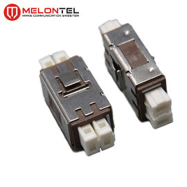 China Duplex Fiber Optic Connectors MT-1032-MU-B , MU Female Fiber Optic Adaptors factory