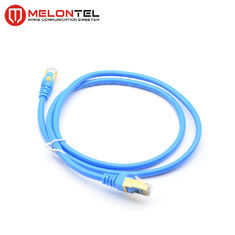 China Full Copper STP Network Patch Cord  MT 5003  RJ45 / Cat5E  With Metal Plug factory