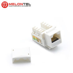 China Unshielded UTP RJ45 Modular Jack MT 5100 With Cover For Telephone Outlet factory