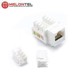 China High Performance Cat5e Keystone Jack , Krone IDC Cat6 Keystone Adapter  MT 5103 factory