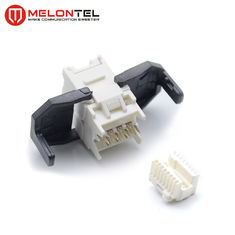 China RJ45 Ethernet Keystone Jack Toolless Type MT 5110 For Network Outlet factory