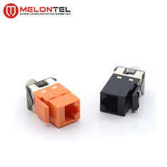 China 180 Degree Rj45 Female Connector MT 5114 ,Krone IDC UTP Cat6 Modules Jack factory