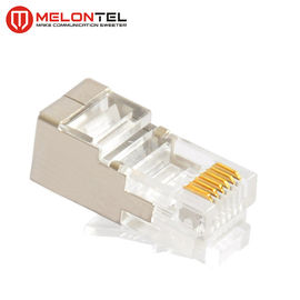 China MT-5052B RJ12 Modular Plug RJ12 6P6C STP Connector CAT3 Copper Cable Plug For Network factory