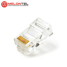 China MT-5053A RJ45 Modular Plug Cat.6 8P8C UTP Network Patch Cord Plug With Gold Plated factory