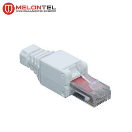 China MT-5056A RJ45 Modular Plug UTP Toolless RJ45 Cat.6 Modular Jack Plug With Gold Plated factory