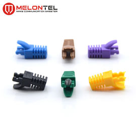 China MT-5081 Plug Boots Colourful RJ45 Plug Boots For Network Cable Boots factory