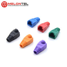China MT-5082 Plug Boots Colourful Network Cable Plug Boots For RJ45 Plug factory