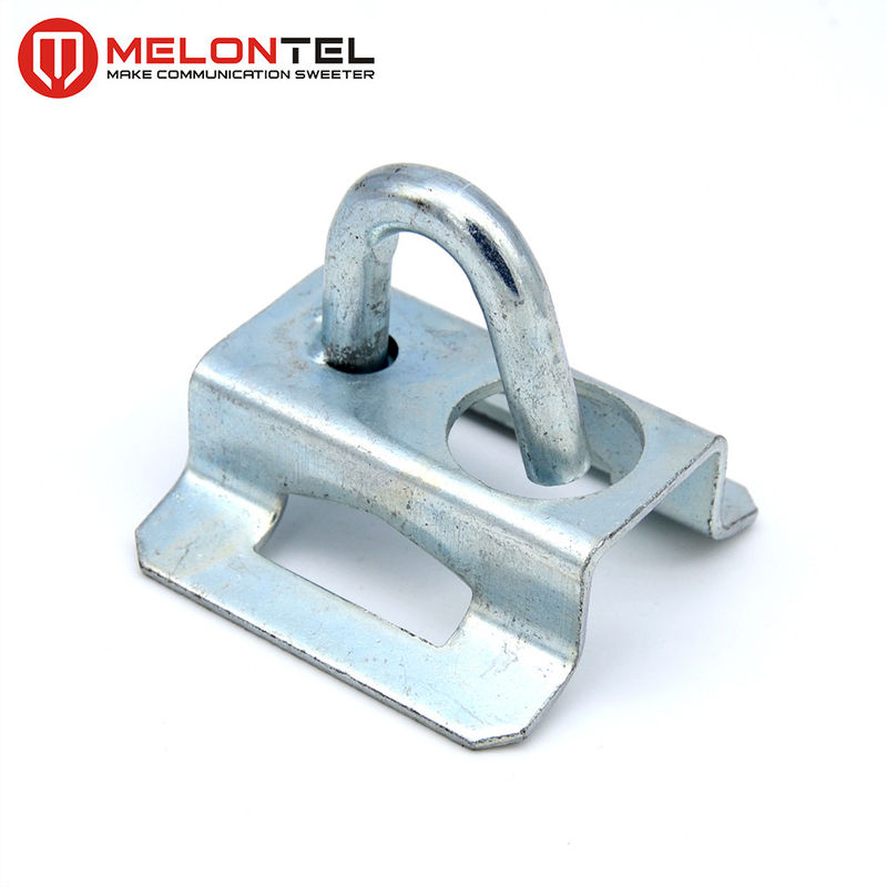 Galvanized Iron FTTH Accessories / Draw Hook For Telegraph Pole Hose Clamps MT1705 supplier