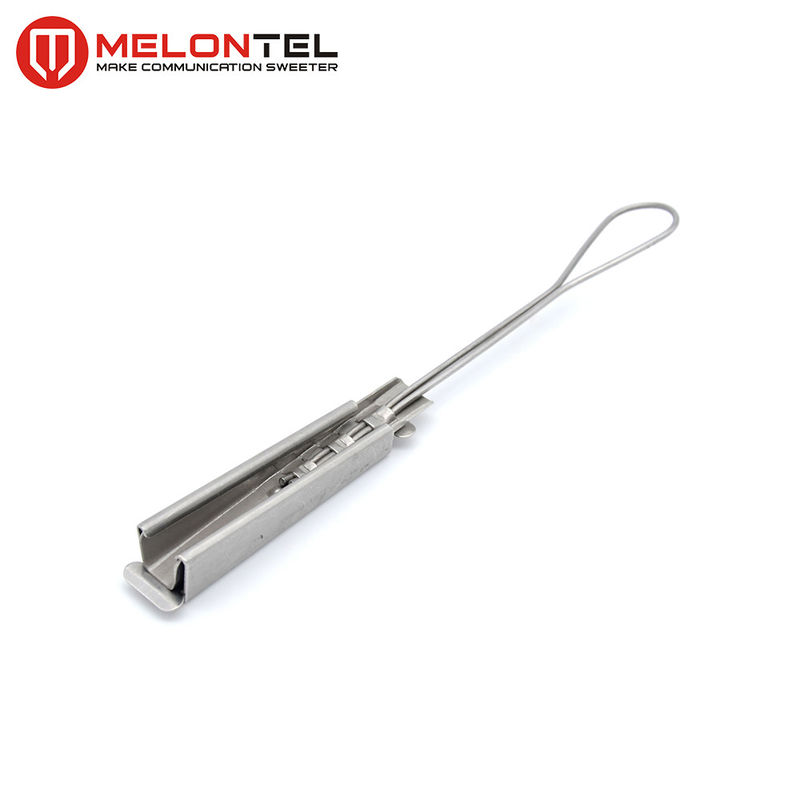 Outdoor FTTH Drop Wire Clamp Stainless Steel Wedge Type Anti Corrosion MT1723 supplier