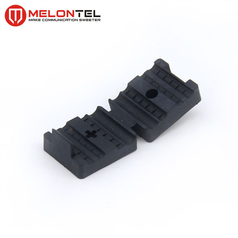 Cable Fix  FTTH Accessories , Plastic Cable Clip With Cross Screw MT 1750 supplier