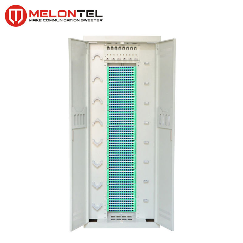 SPCC Fiber Cross Connect Cabinet 576 / 720 Core Indoor Floor Type MT 1306 supplier