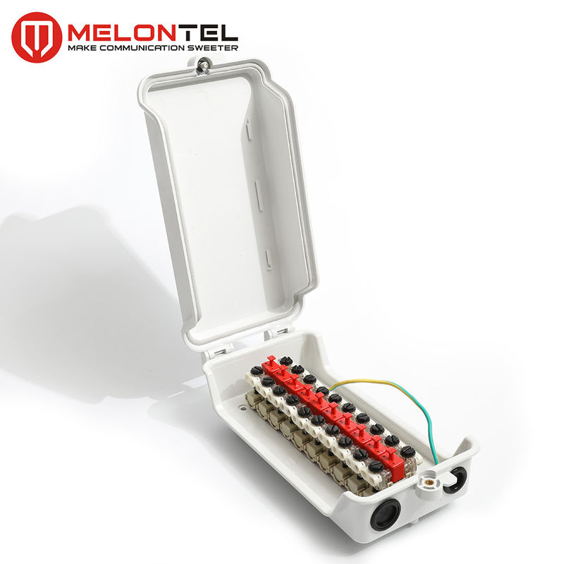 Gray Plastic 10 Pair Disconnection Module Outdoor Type OEM Available MT 3027 supplier