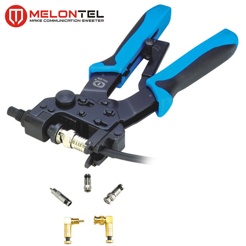 Adjustable BNC Crimping Tool Carbon Steel MT 8305 For BNC / RCA Connector