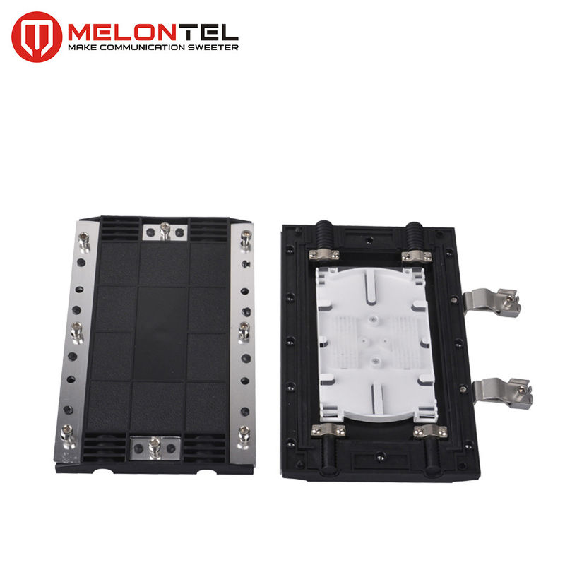 2 In 2 Out Fiber Optic Enclosure 12 / 24 Core , Waterproof Outdoor Fiber Enclosure MT1507 supplier
