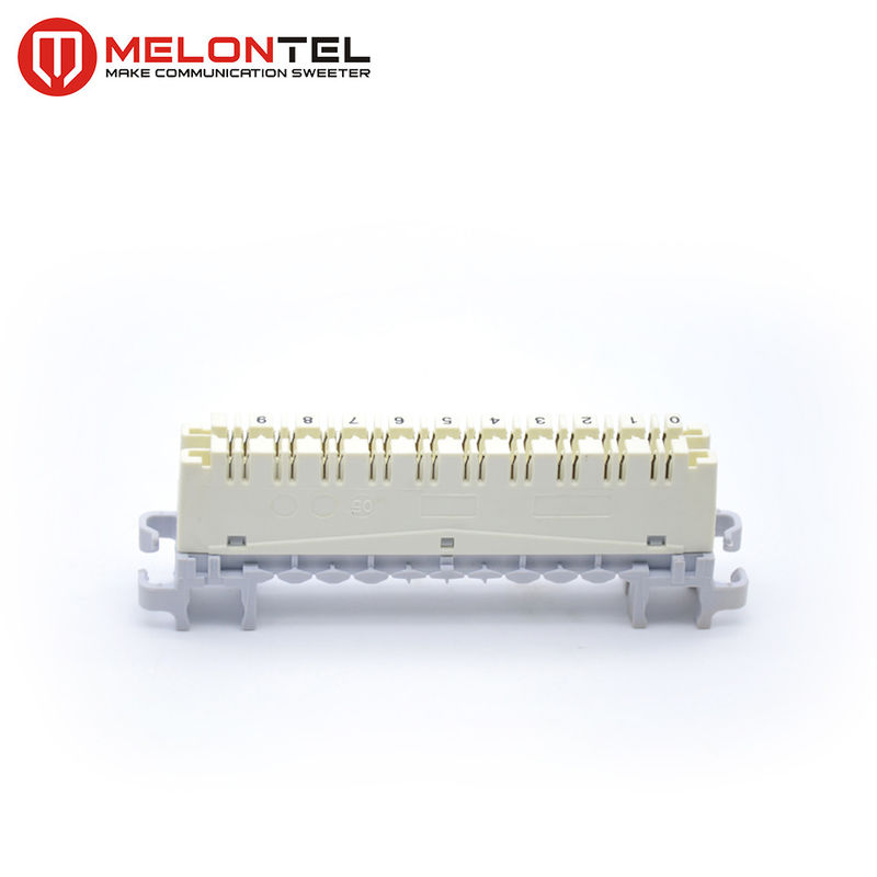 Silver Plating Cat5 10 Pair Krone Module High Band  Light Weight MT-2007-10 supplier