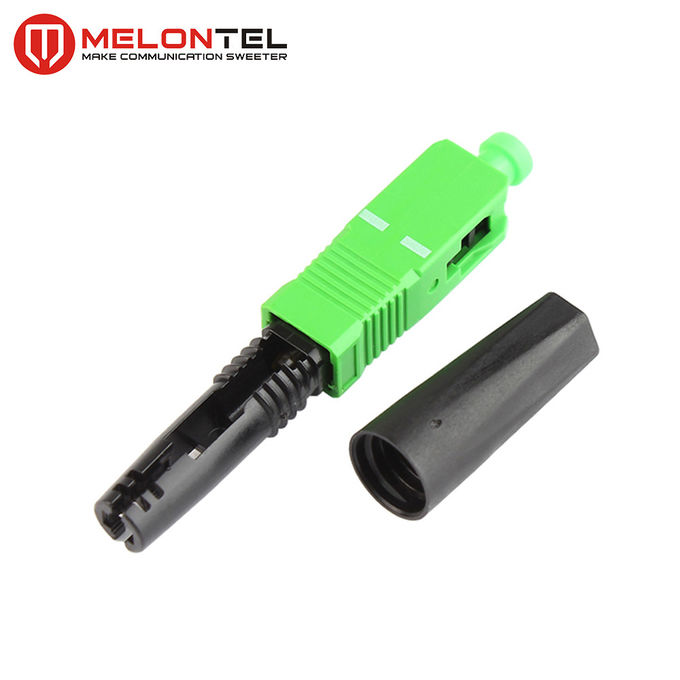FTTH Optical Short Type SC Fiber Optic Connector MT1041 Mechanical Connect